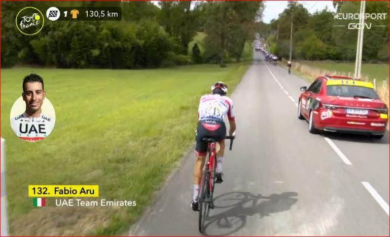 Фабио Ару сошёл с Тур де Франс-2020 на 9-м этапе
