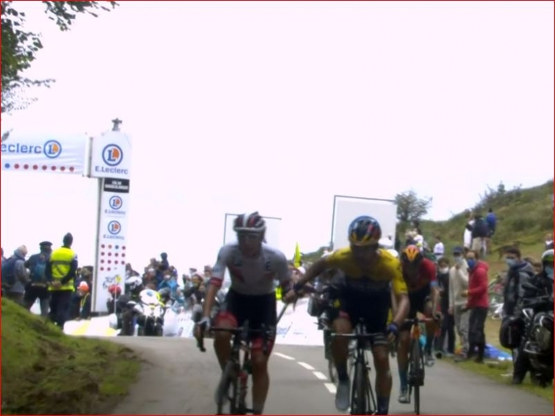 Примож Роглич, Тадей Погачар, Марк Хирши, Эган Берналь о 9-м этапе Тур де Франс-2020