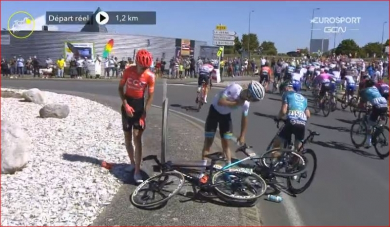 Ильнур Закарин сошёл с Тур де Франс-2020 на 12-м этапе