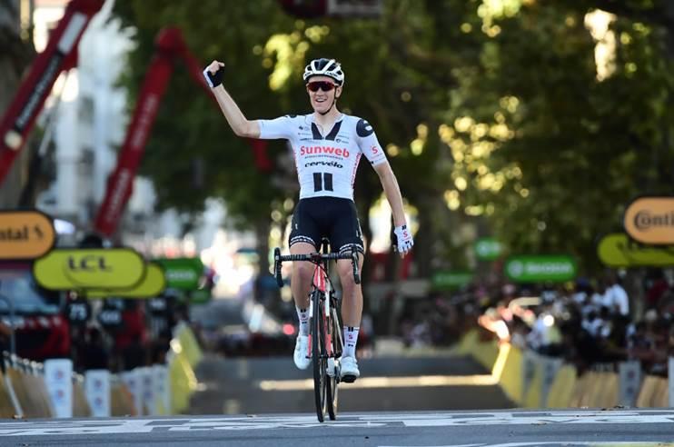 Сорен Краг Андерсен, Петер Саган, Сэм Беннетт, Примож Роглич о 14-м этапе Тур де Франс-2020