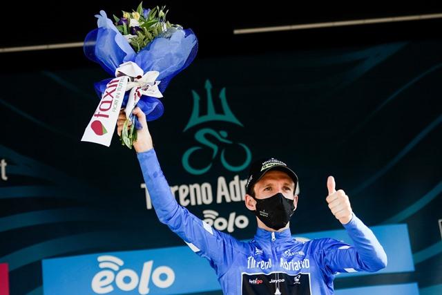 Матье ван дер Пул – победитель 7 этапа Тиррено-Адриатико-2020