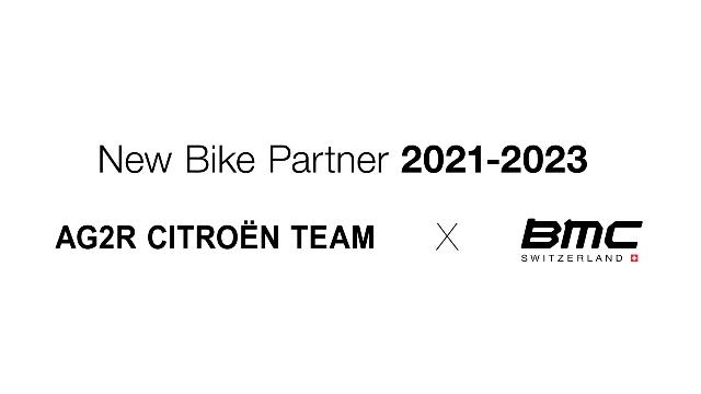 Велогонщики команды AG2R Citoen с 2021 года будут выступать на велосипедах BMC