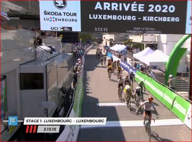 Тур Люксембурга-2020. Этап 1