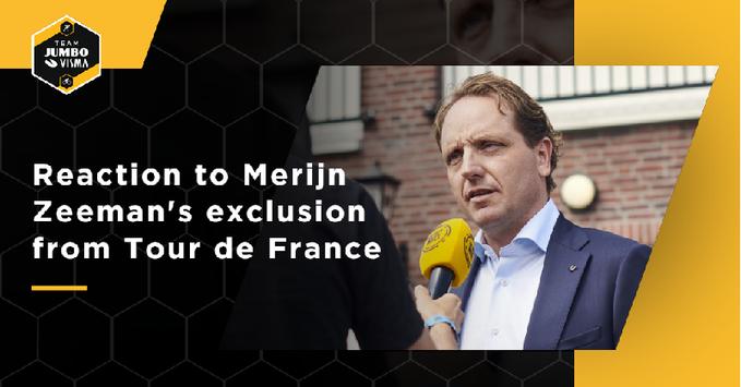 Спортивный директор велокоманды Jumbo-Visma об исключении с Тур де Франс-2020