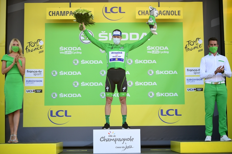 Дубль Сорена Крага Андерсена на Тур де Франс-2020