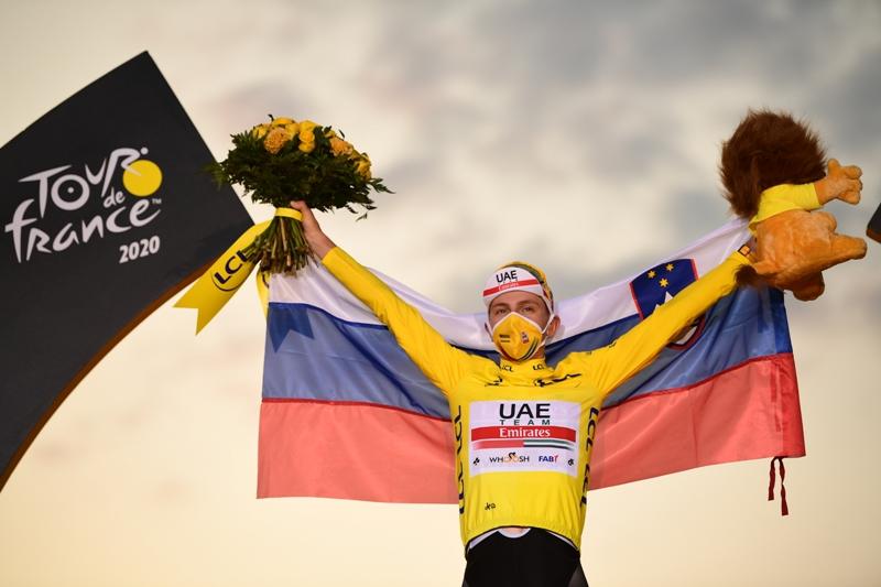 Победитель Тур де Франс-2020 Тадей Погачар примет участие в чемпионате мира по шоссейному велоспорту-2020