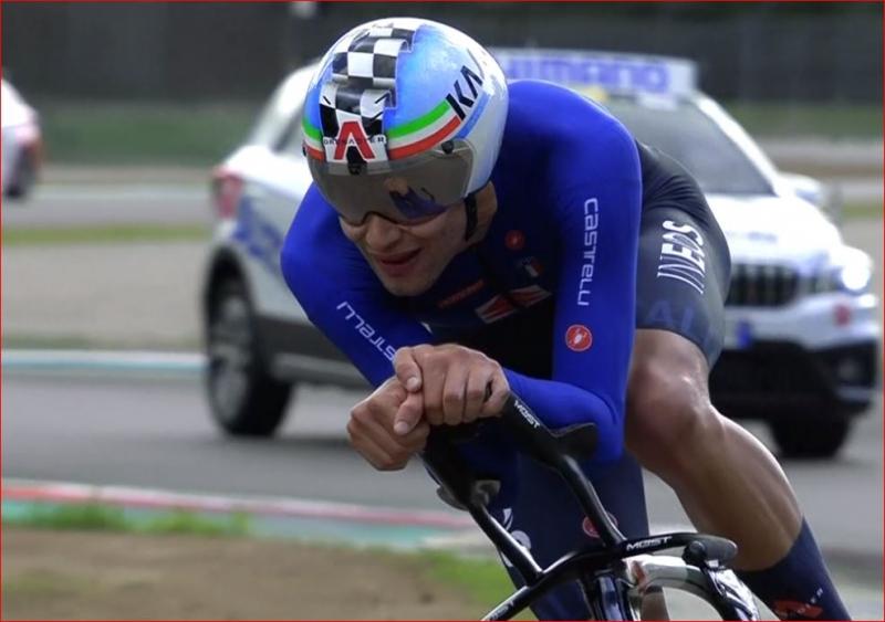 Филиппо Ганна – чемпион мира по велоспорту-2020 в индивидуальной гонке на время