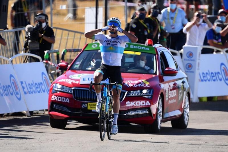 Тур де Франс. Этап 6. Огромный успех Алексея Луценко на вершине Мон Эгуаль