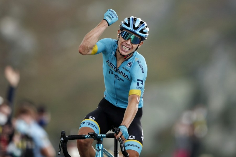Тур де Франс. Этап 17. Большая победа Мигеля Анхеля Лопеса на вершине Коль де ла Лоз
