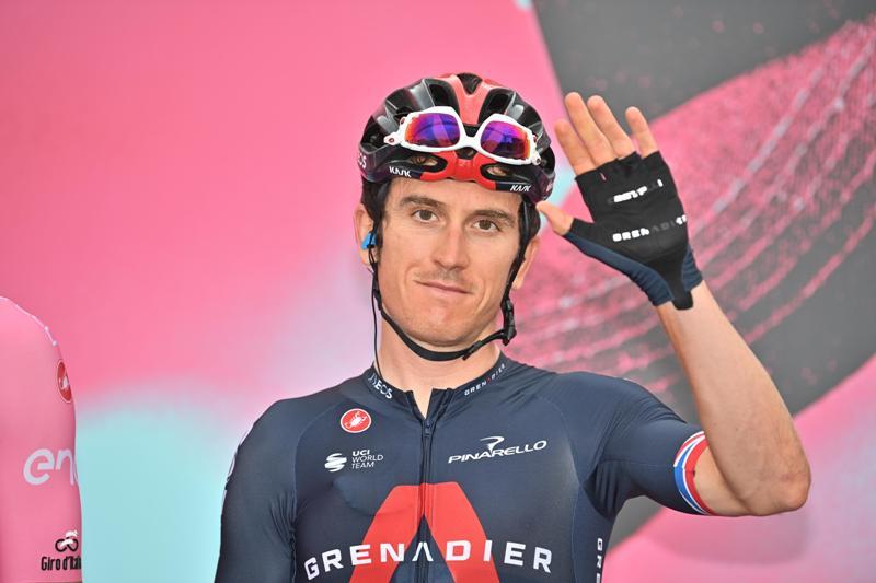 Герант Томас сошёл с Джиро д'Италия-2020