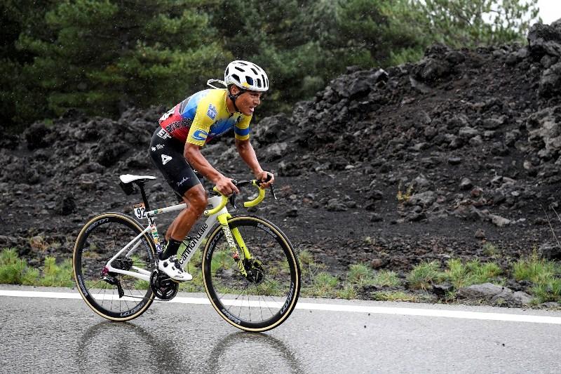 Победа Джонатана Кайседо на вершине Этны на 3-м этапе Джиро д'Италия-2020