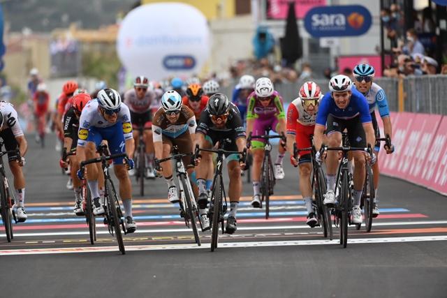 Арно Демар, Петер Саган, Жуан Алмейда о 4-м этапе Джиро д'Италия-2020
