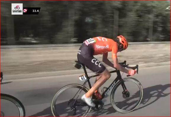Ильнур Закарин и Павел Кочетков попали в завал на 7-м этапе Джиро д'Италия-2020