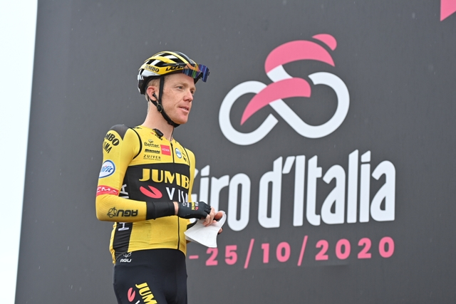 Стевен Крейсвейк снялся с Джиро д'Италия-2020 после положительного теста на Covid-19