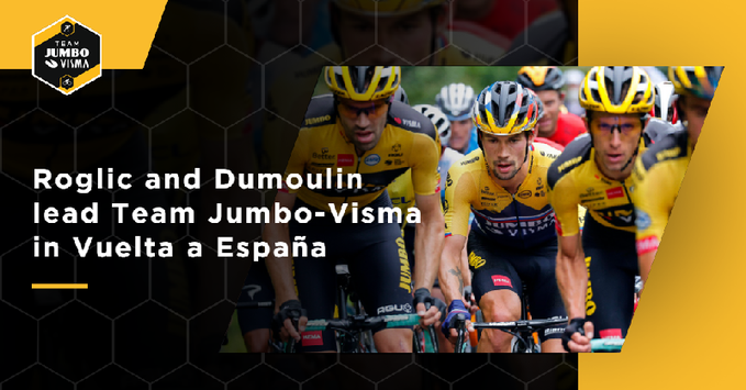 Примож Роглич и Том Дюмулин – капитаны команды Jumbo-Visma на Вуэльте Испании-2020