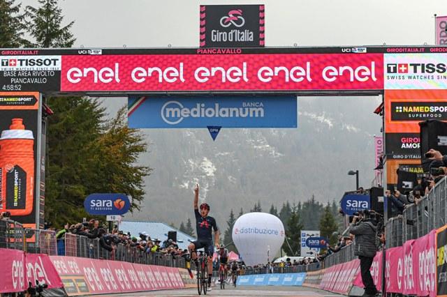 Тео Геоган Харт – победитель 15 этапа Джиро д'Италия-2020