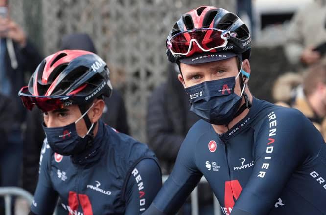 Крис Фрум и Ричард Карапас о старте на Вуэльте Испании-2020