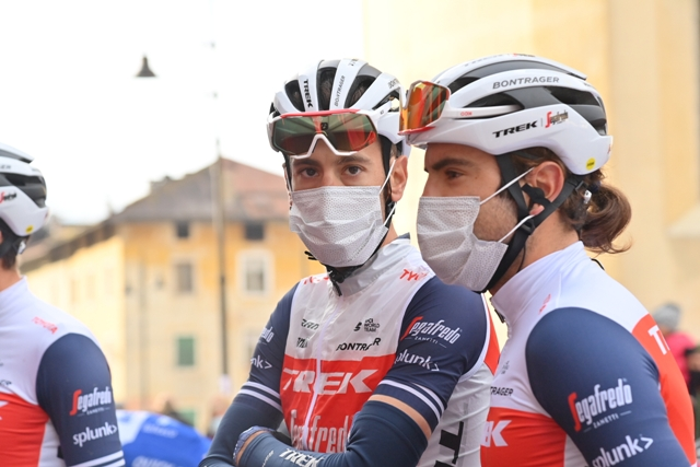Винченцо Нибали и Лука Гуэрчилена о выступлении на Джиро д'Италия-2020