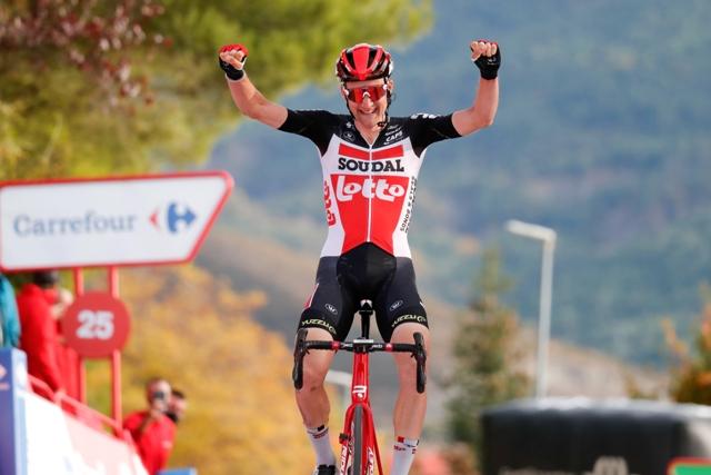 Тим Велленс - победитель 5 этапа Вуэльты Испании-2020