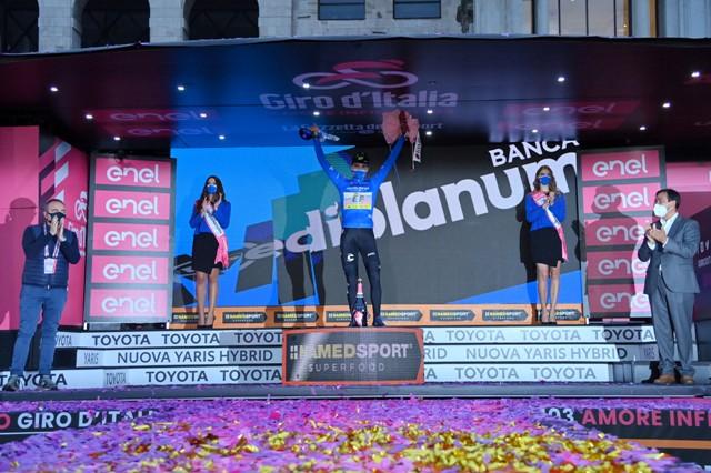 Рубен Геррейро – победитель горной классификации Джиро д'Италия-2020