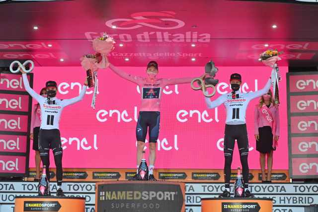 Велокоманда Sunweb подвела итоги первого сезона без Тома Дюмулина