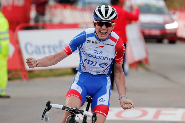 Давид Годю – победитель 11 этапа Вуэльты Испании-2020