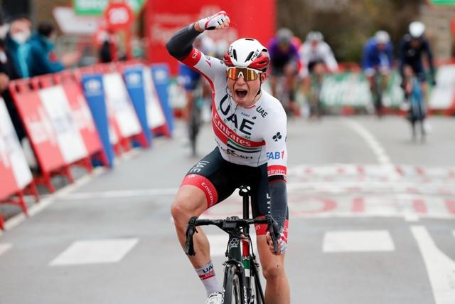 Яспер Филипсен – победитель 15 этапа Вуэльты Испании-2020