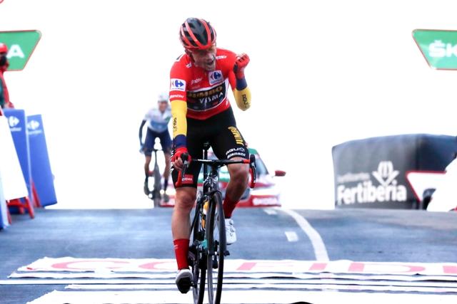 Примож Роглич, Ричард Карапас, Хью Карти, Энрик Мас о 17-м этапе Вуэльты Испании-2020