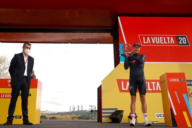 Крис Фрум проехал последнюю гонку с командой Ineos Grenadiers