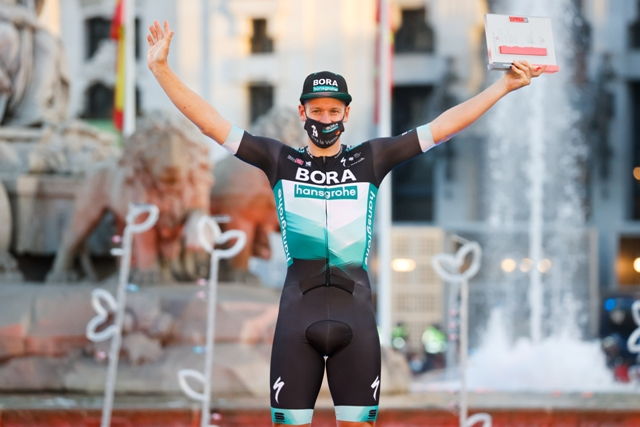 Победа Паскаля Акермана на 18-м этапе, 9-е место Феликса Гросшартнера на Вуэльте Испании-2020