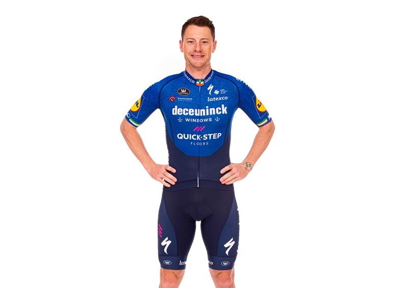 Велокоманда Deceuninck-Quick Step представила новую велоформу на 2021 год