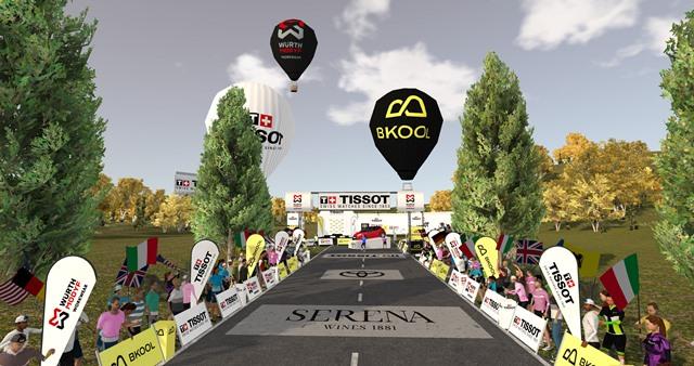 """RCS Sport проведёт виртуальную рождественскую велогонку """"Challenge of Stars"""""""