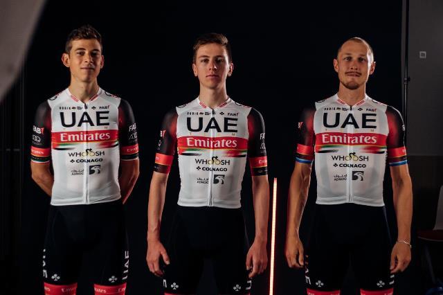 Велокоманда UAE Team Emirates представила велоформу на 2021 год