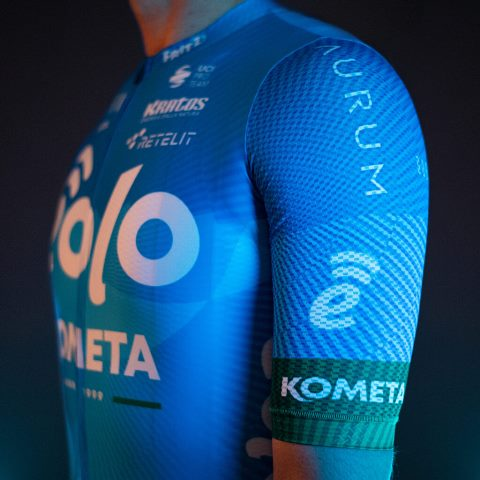 Команда EOLO-KOMETA представила велоформу на 2021 год