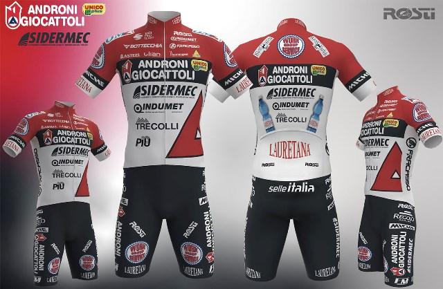 Команда Androni Giocattoli – Sidermec представила велоформу на 2021 год