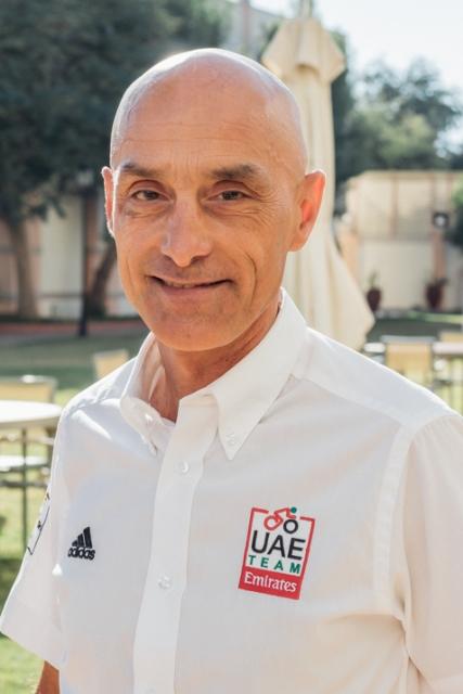Генеральный менеджер велокоманды UAE Team Emirates о подписании Марка Хирши