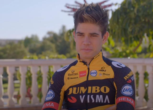 Ваут ван Арт продлил контракт с велокомандой Jumbo-Visma на 3 года