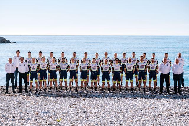 Велокоманда Intermarche-Wanty-Gobert Materiaux представила состав на 2021 год