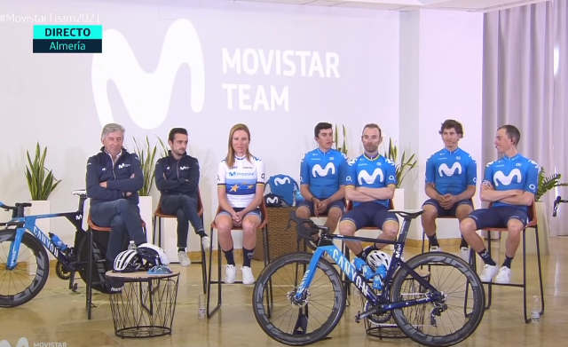 Эусебио Унсуэ о целях велокоманды Movistar на 2021 год