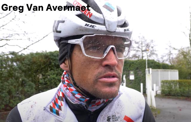 Грег Ван Авермат протестировал велосипед на брусчатке Париж-Рубэ