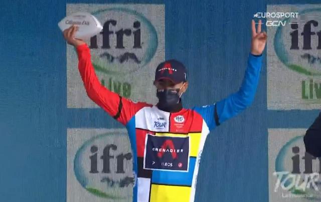Иван Соса – победитель этапа до Мон-Ванту на Туре Прованса-2021