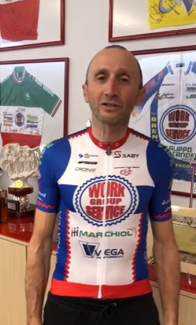 49-летний Давиде Ребеллин подписал контракт с велокомандой Work Service Marchiol Vega