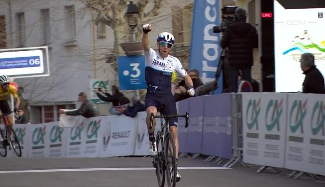 Майкл Вудс – победитель 2 этапа Tour des Alpes Maritimes et du Var-2021