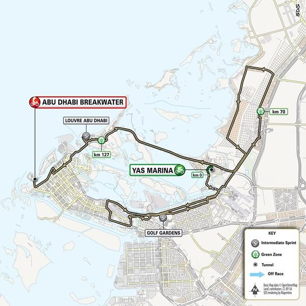 Тур Объединённых Арабских Эмиратов-2021. Маршрут и участники