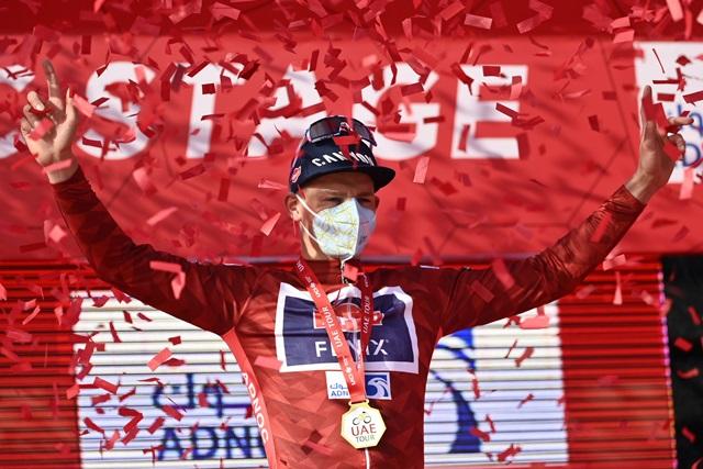 Матье ван дер Пул – победитель 1 этапа Тура ОАЭ-2021