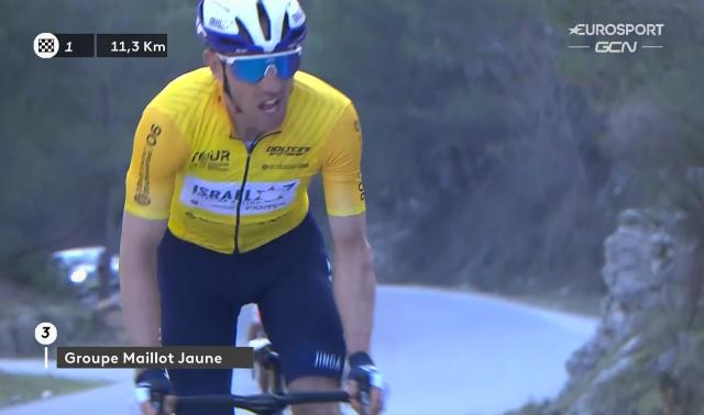 Джанлука Брамбилла – победитель велогонки «Tour des Alpes Maritimes et du Var»-2021