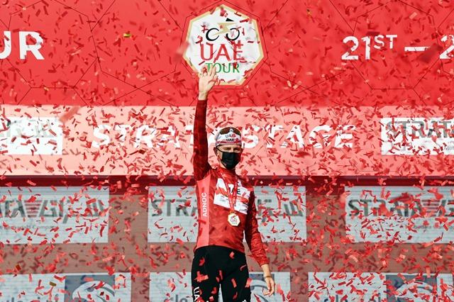 Тадей Погачар – победитель 3 этапа Тура ОАЭ-2021