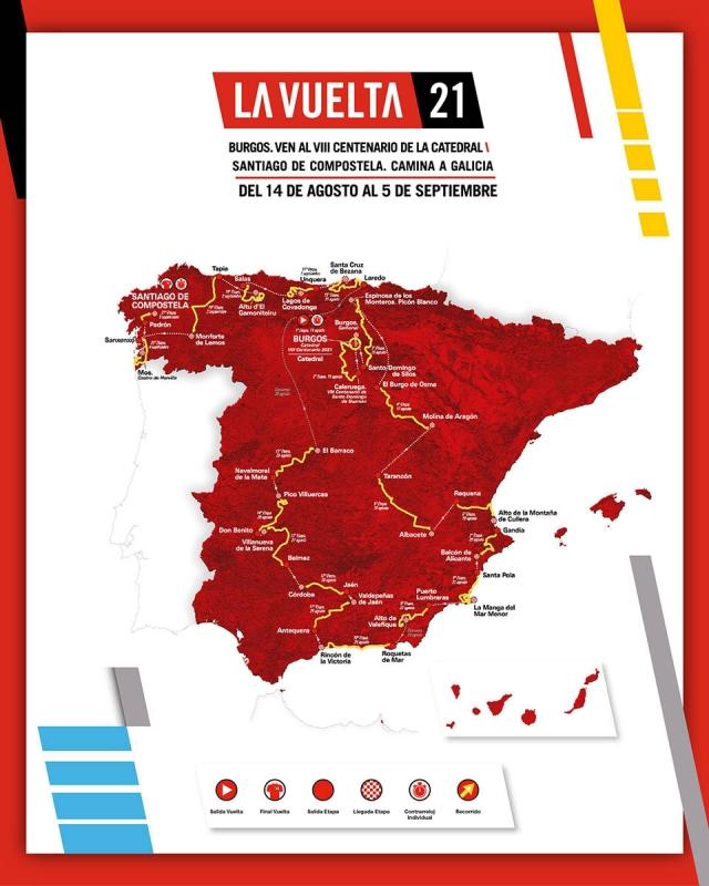 Вуэльта Испании-2021. Презентация маршрута