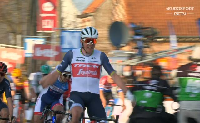 Мадс Педерсен – победитель классики Kuurne-Brussel-Kuurne-2021