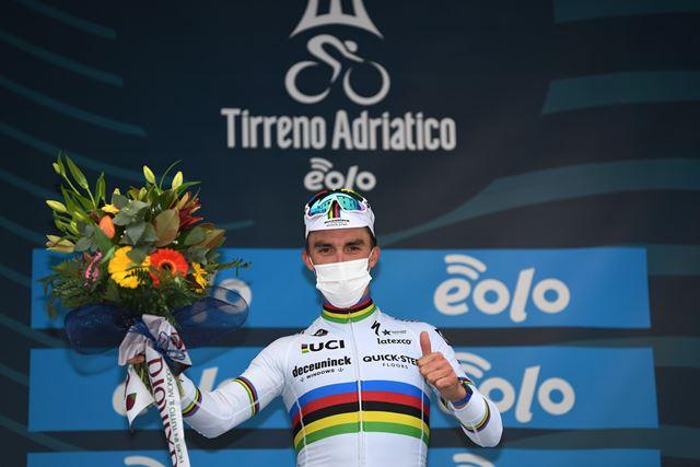 Жулиан Алафилипп – победитель 2 этапа Тиррено-Адриатико-2021